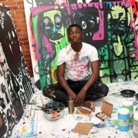 Aboudia Renowned Ivorian Artist